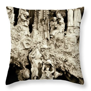 Nativity Throw Pillow by Lana Enderle