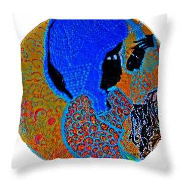 Nativity Of Jesus Throw Pillow
