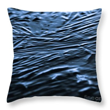 Natural Abstracts - Ice Throw Pillow
