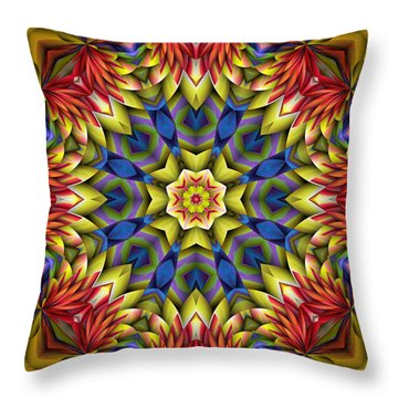 Natural Attributes 06 Square Throw Pillow by Wendy J St Christopher