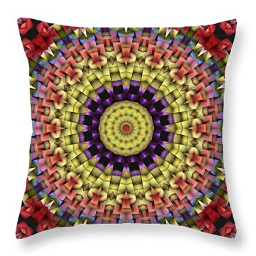 Natural Attributes 09 Square Throw Pillow by Wendy J St Christopher