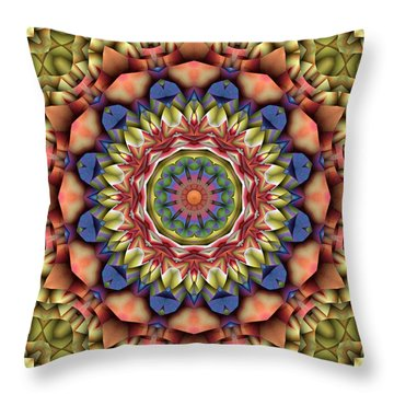 Natural Attributes 12 Square Throw Pillow by Wendy J St Christopher