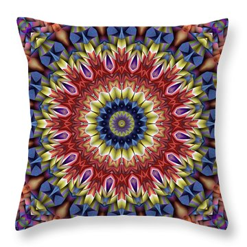 Natural Attributes 13 Square Throw Pillow by Wendy J St Christopher
