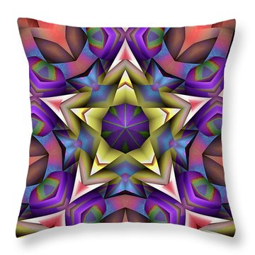 Natural Attributes 16 Square Throw Pillow by Wendy J St Christopher