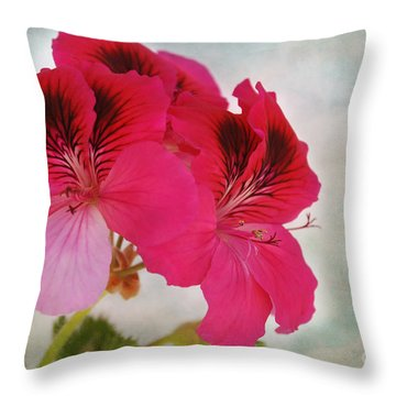 Natural Beauty Throw Pillow by Claudia Ellis
