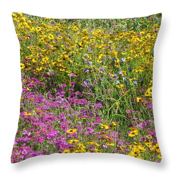 Natural Beauty Throw Pillow by Tim Townsend