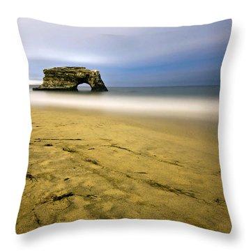 Natural Bridges Throw Pillow
