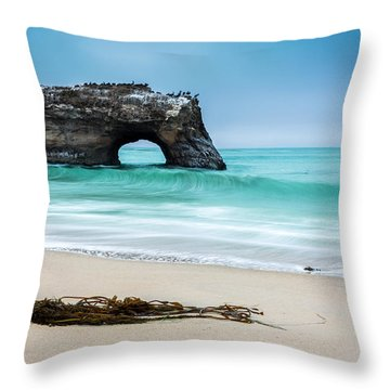 Natural Bridges Throw Pillow