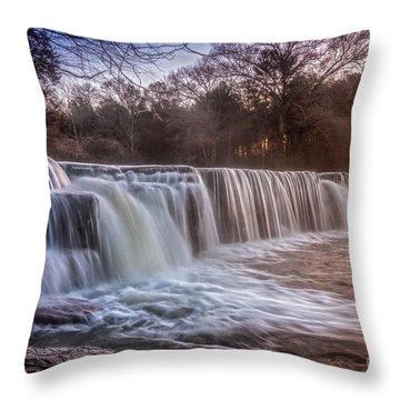 Natural Dam Sunrise Throw Pillow