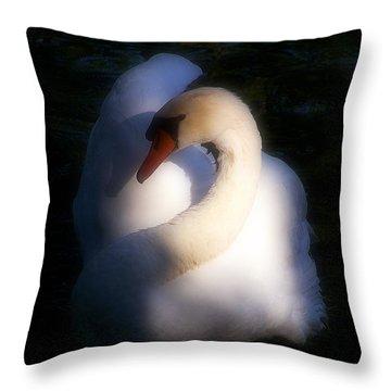 Natural Elegance Throw Pillow