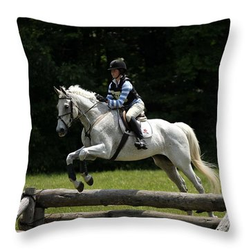 Natural Eventers Throw Pillow