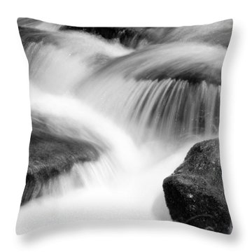 Natural Flow Throw Pillow