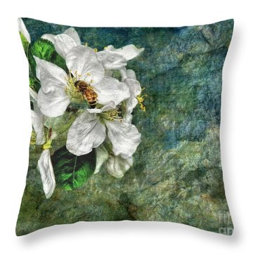 Natural High Throw Pillow