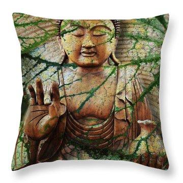 Natural Nirvana Throw Pillow