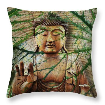 Natural Nirvana Throw Pillow