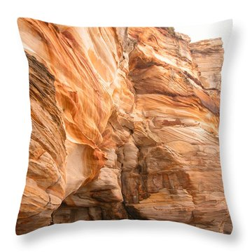 Natural Rock Throw Pillow