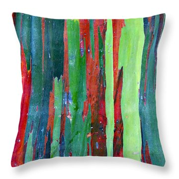Natural Tree Throw Pillow