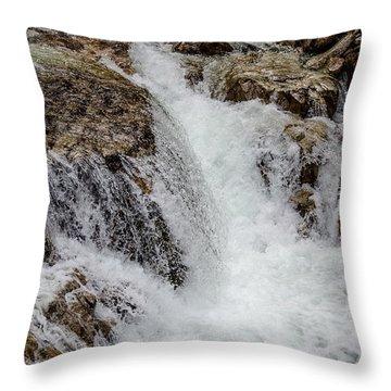 Naturally Pure Waterfall Throw Pillow
