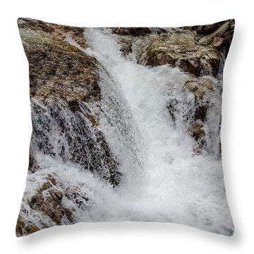 Naturally Pure Waterfall Throw Pillow