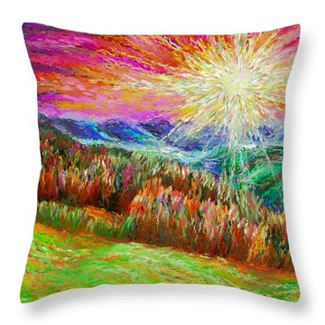 Nature 1  25 2015 Throw Pillow