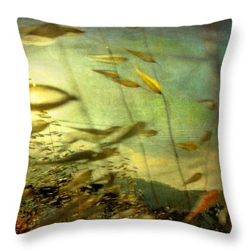 Nature #12. Strong Wind Throw Pillow by Alfredo Gonzalez