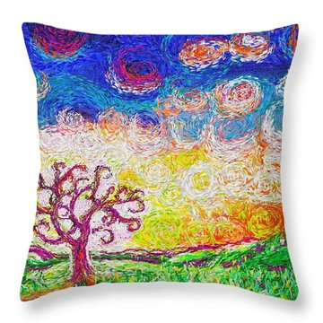 Nature 2 22 2015 Throw Pillow