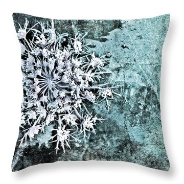 Nature Abstract 28 Throw Pillow by Maria Huntley