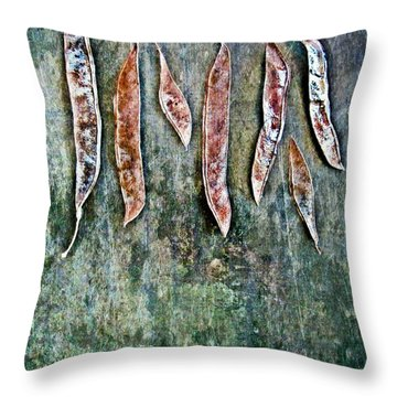 Nature Abstract 51 Throw Pillow by Maria Huntley