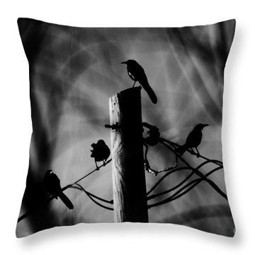 Throw Pillow featuring the photograph Nature In The Slums by Jessica Shelton