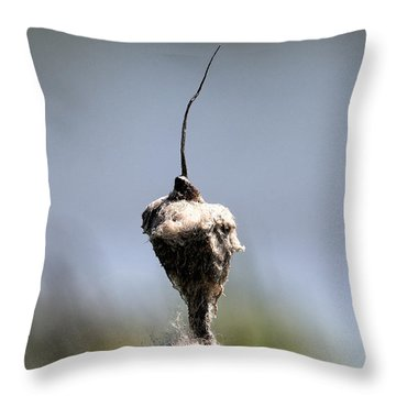 Throw Pillow featuring the photograph Nature Man? by Leif Sohlman