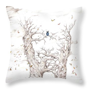 Nature Of The Self Throw Pillow