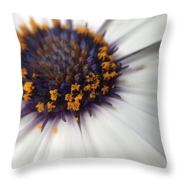 Throw Pillow featuring the photograph Nature Photography 11 by Gabriella Weninger - David