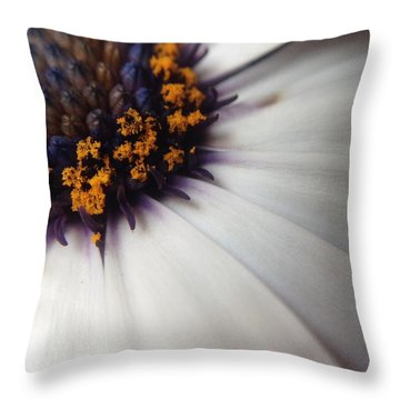 Throw Pillow featuring the photograph Nature Photography 5 by Gabriella Weninger - David