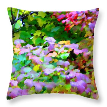 Nature Spirit Throw Pillow