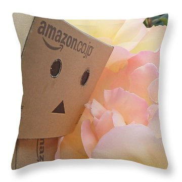 Nature Study Throw Pillow by Steve Taylor