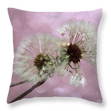 Nature Wish Throw Pillow by Krissy Katsimbras