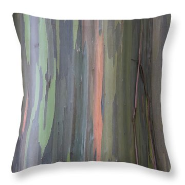 Natures Canvas Throw Pillow