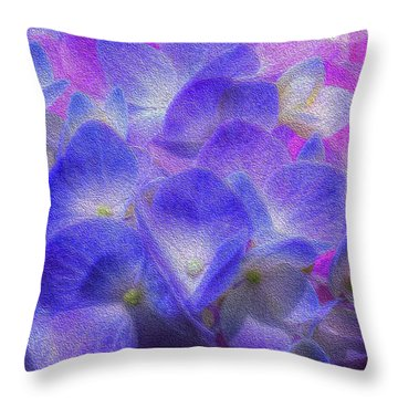 Nature's Art Throw Pillow