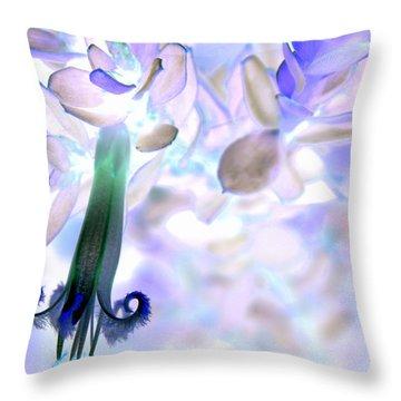 Throw Pillow featuring the photograph Nature's Bell by Miroslava Jurcik