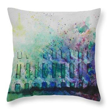 Natures Blend Throw Pillow by Chrisann Ellis