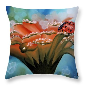 Natures Blessings Throw Pillow