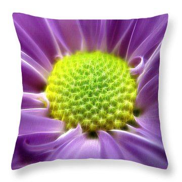 Nature's Bling Throw Pillow