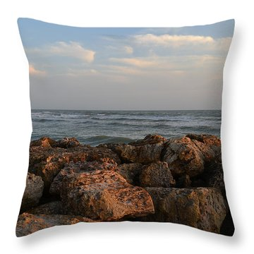 Throw Pillow featuring the photograph Nature's Brush by Melanie Moraga