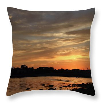 Nature's Created Colors Throw Pillow by Karol Livote