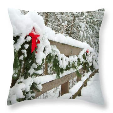 Nature's Decorations Throw Pillow by Michael McGowan