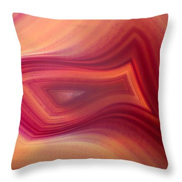 Nature's Design Throw Pillow by David and Carol Kelly