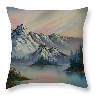 Nature's Elegance Throw Pillow by C Steele