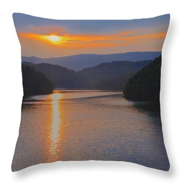 Natures Eyes Throw Pillow