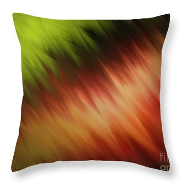 Nature's Feathers Throw Pillow