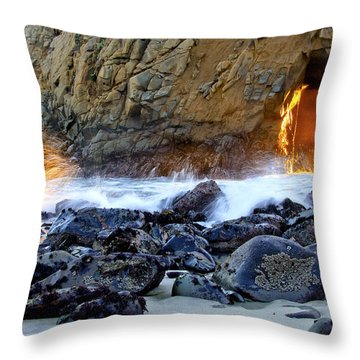 Nature's Fireworks 1 Throw Pillow
